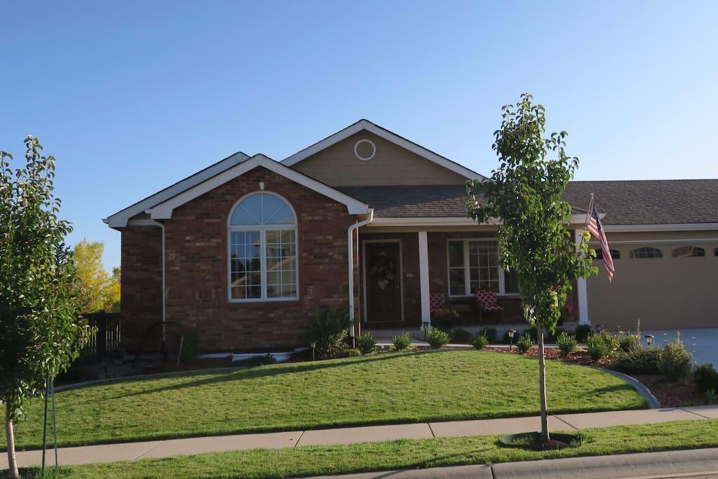 Our home is near I-25, Broadcom, Intel, Harmony Tech Park