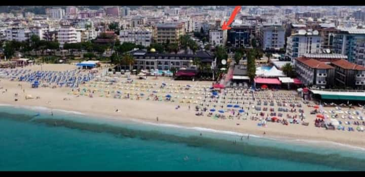 Alanya cleopatra beach dublex flat