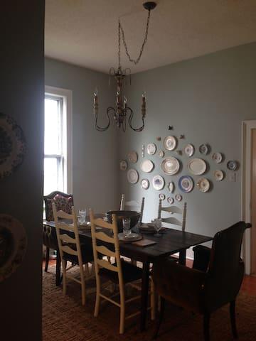 Cozy Historic Home - บริสตอล - บ้าน