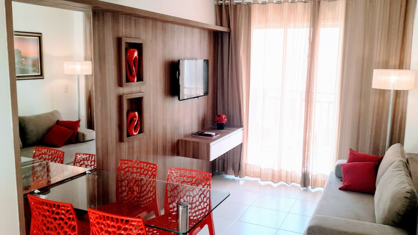 Lindo apartamento no Wellness Resort