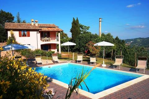 La Panoramica Villa con Piscina