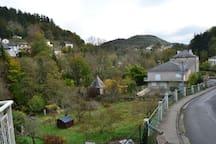 Vue sur la Vallée du Gijou