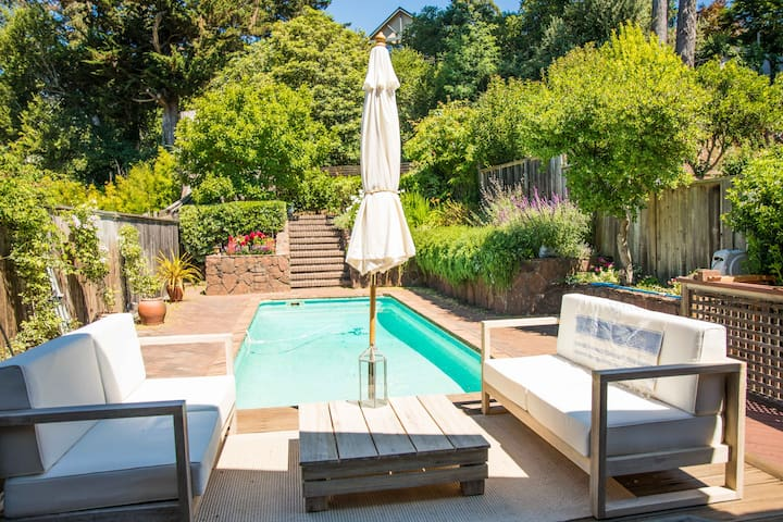 Cozy & Charming Downtown Mill Valley Craftsman