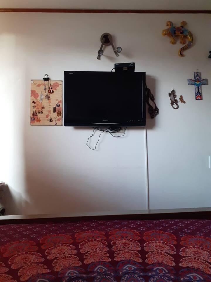 Habitación cómoda, tranquila, bien ubicada