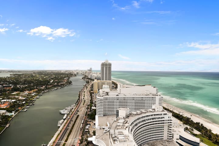 Fontainebleau Hotel 34th Fl Ocean View 1 Bedroom