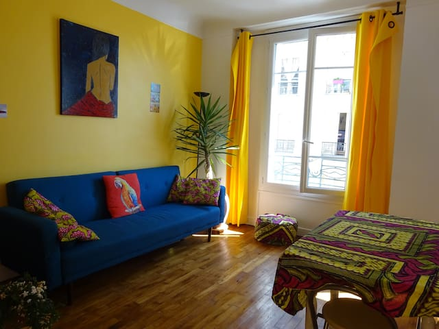 Lovely apartment close to Montmartre/Gare du Nord