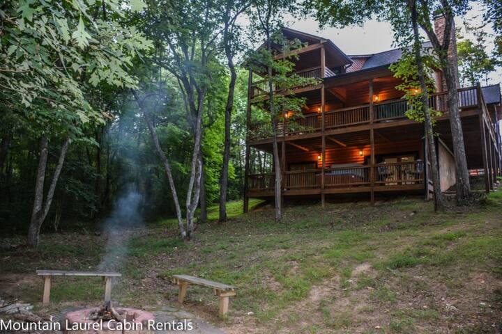 Mlc Mystic Dream Cabins For Rent In Blue Ridge Georgia