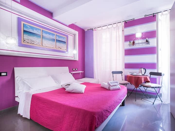 "B&B I coralli ""Red gorgonia room"""