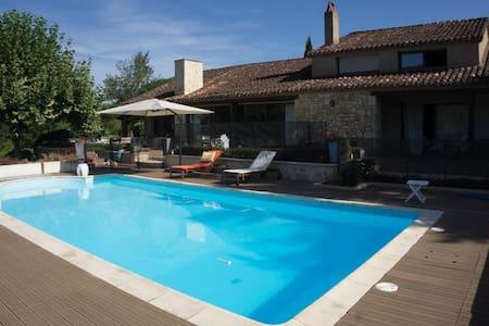 Magnifique Villa région du Lot - Luzech