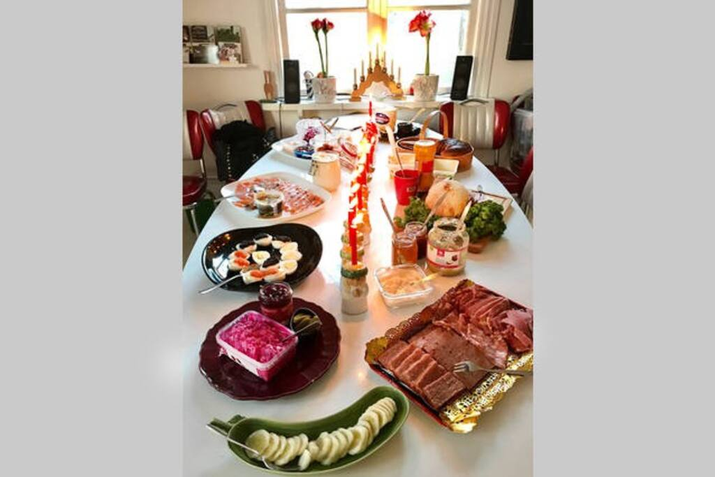 We can provide a complete Swedish Christmas Smorgasbord.