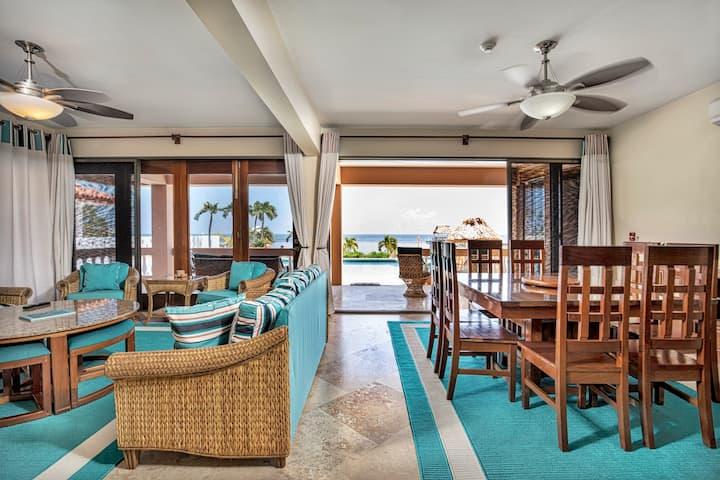 ♡ Hol Chan Reef Villas | Ground floor oceanfront!