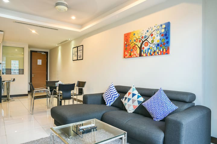 2BR Serviced Apartment @ CASA Bukit Bintang KL