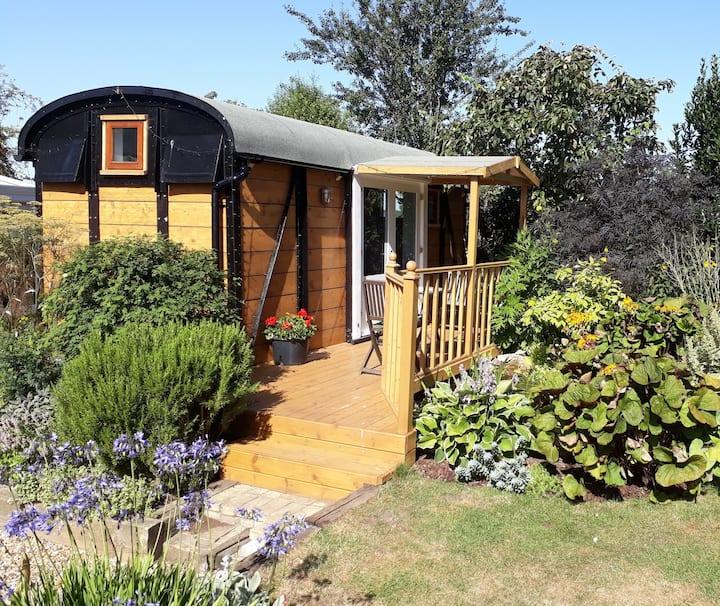 'The Wagon'  a peaceful retreat in rural Suffolk