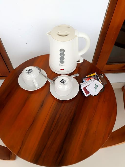 coffee or tea in the room