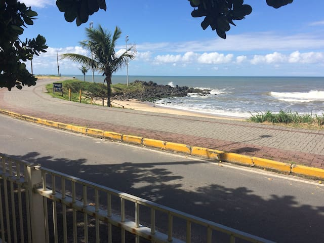 Casa pé na areia-melhor lugar de Barra Velha - Barra Velha - Holiday home