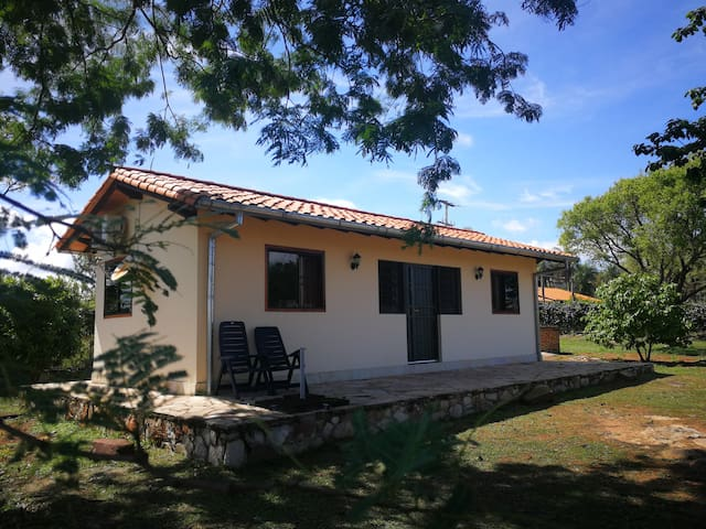 Vacation home with pool and sauna for rent