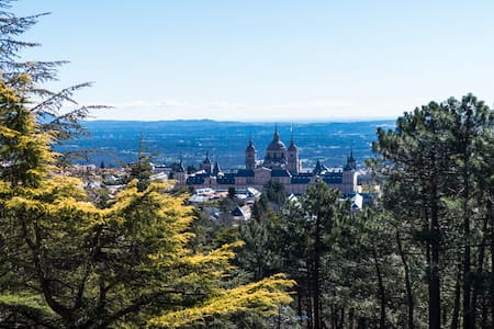 Magnificent views to the Monastery - San Lorenzo de El Escorial