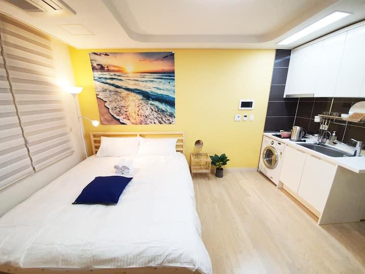 Pangyo comfort& clean room, near Pangyo stn(3min)