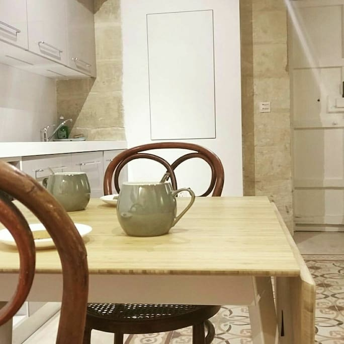 Kitchen living space