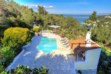 Villa Yotta in Lakka Paxos with good views.. - Lakka - Villa