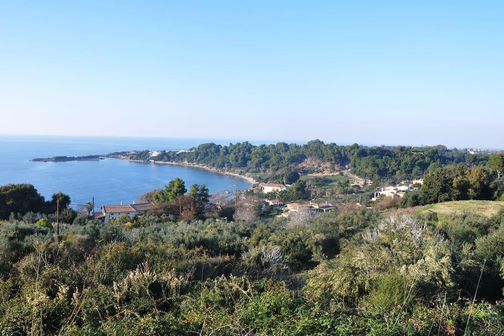 Agios Andreas area
