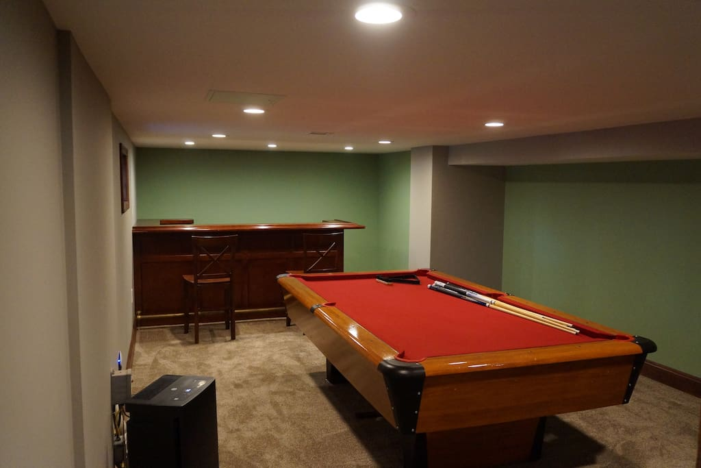 basement/play room/bar
