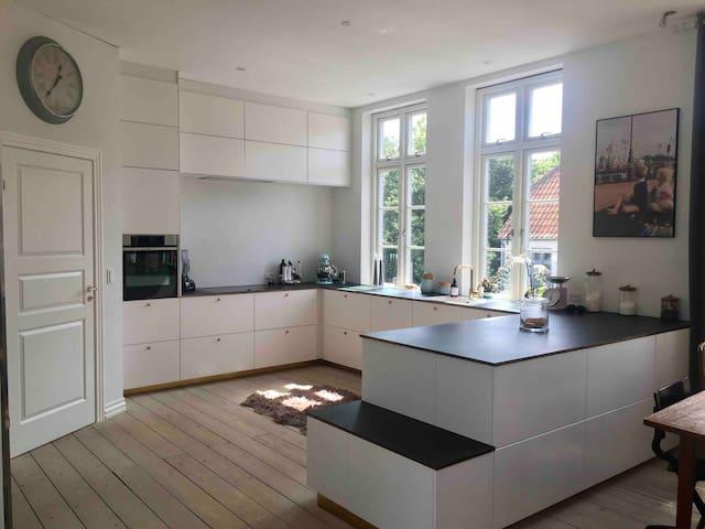 Idyllic modern family home in the heart of Fyn.
