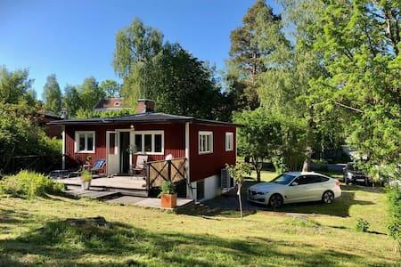 Söt liten villa på Lidingö