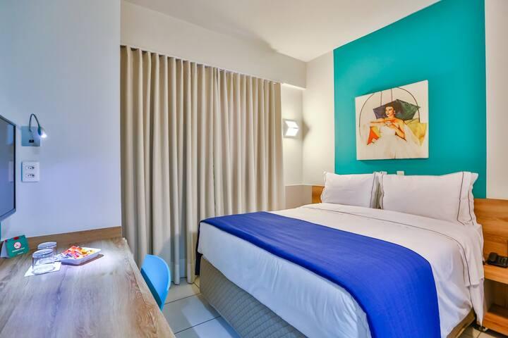 Apartamento Superior 01 cama casal Queen