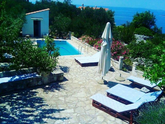 1 bedroom apartment Račišće*Korčula* with pool