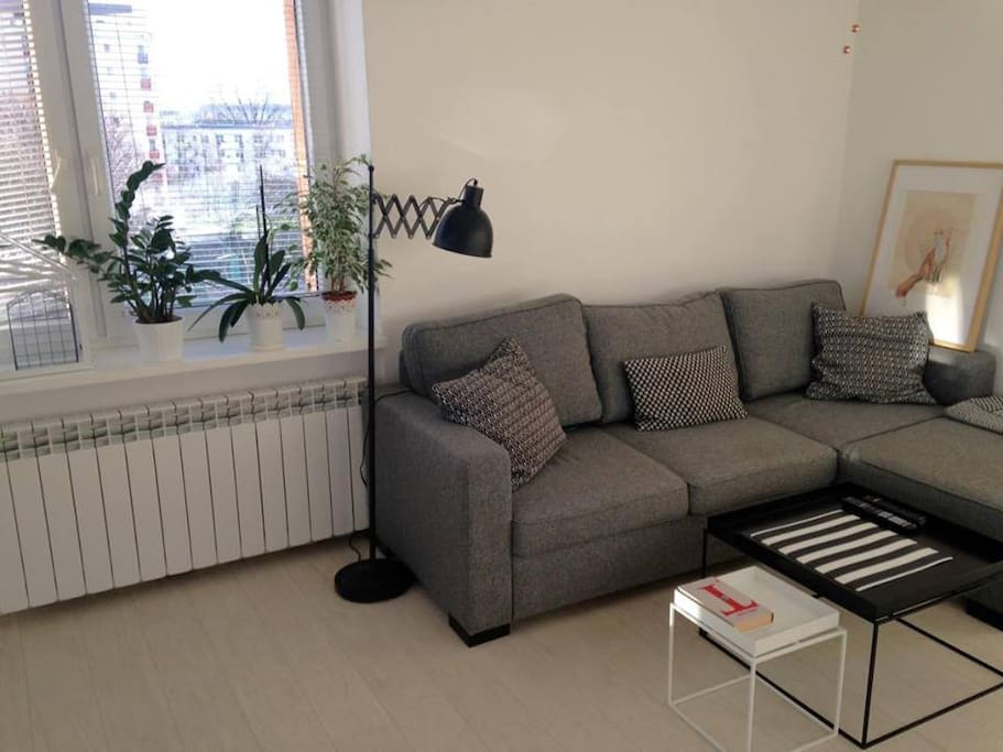 Day room with comfty sofa