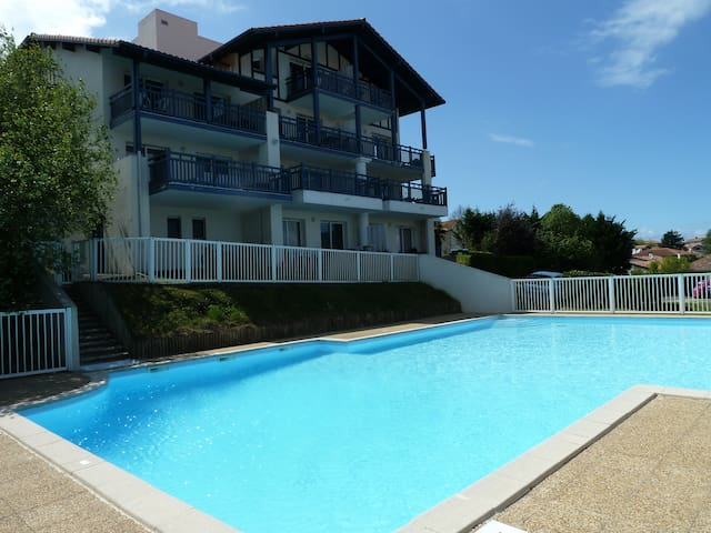 A deux pas plage, vue mer, piscine - Guéthary - Departamento