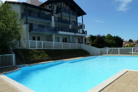 A deux pas plage, vue mer, piscine - Guéthary - Wohnung