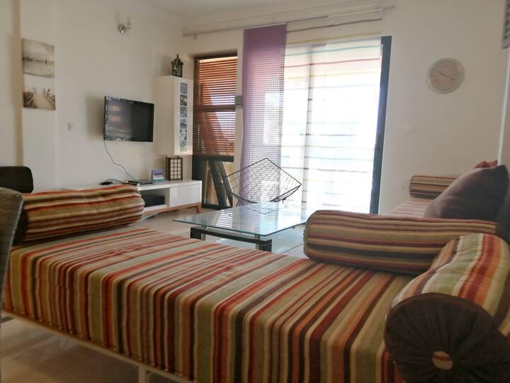 Appartement d'une chambre à Imi Ouaddar, avec magnifique vue sur la ville et terrasse - à 200 m de la plage