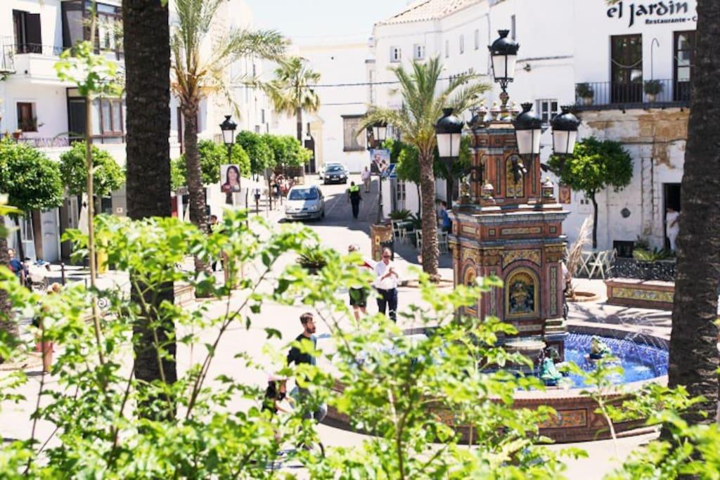Plaza de España a 5 min del apartamento
