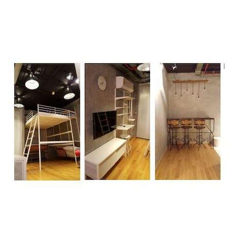 !!!New Cozy Loft 512 | 2Guests | WIFI - Bangkok - Appartement