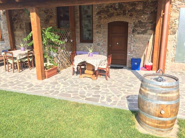 Paola Fabio casa con giardino