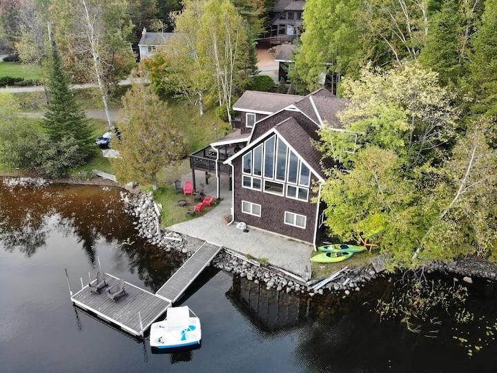 Lakefront Escape in Adirondacks - Visit adklh@com