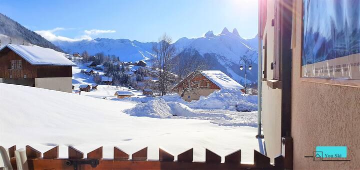 BDA 08 - Skis aux pieds Saint Jean d'Arves 7 pers.