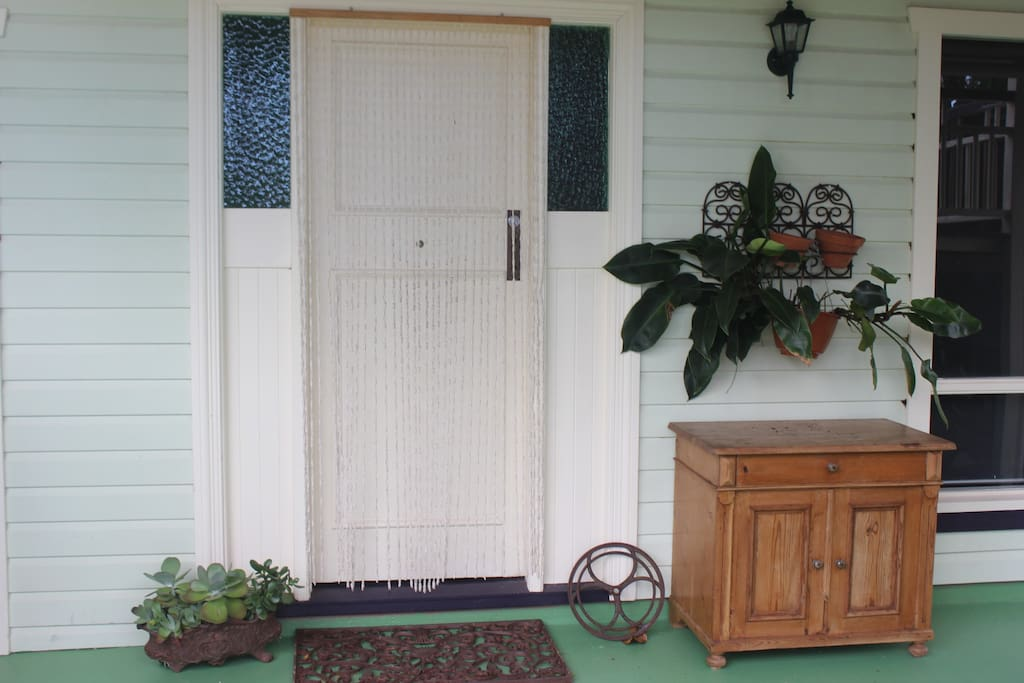 Your front door (entire downstairs of house)