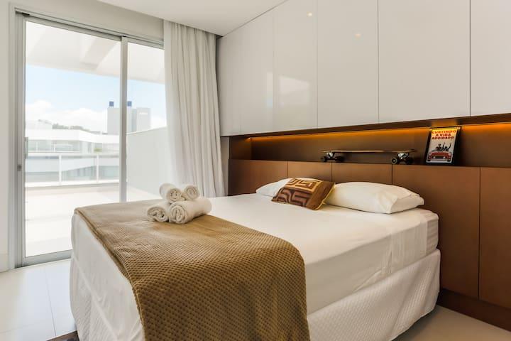 Suite 3 com acesso ao terraço