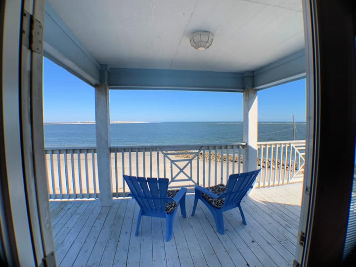 Direct Oceanfront Views from Multi-Tiered Deck!