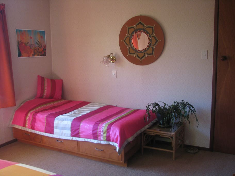 Bedroom 1 - View of Single Bed Suitable for Younger Child