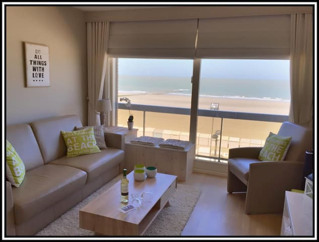 B-line studio with beach hut. - Blankenberge - Wohnung