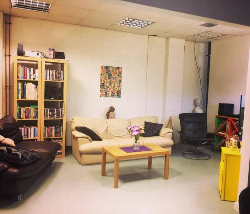 really big livingroom