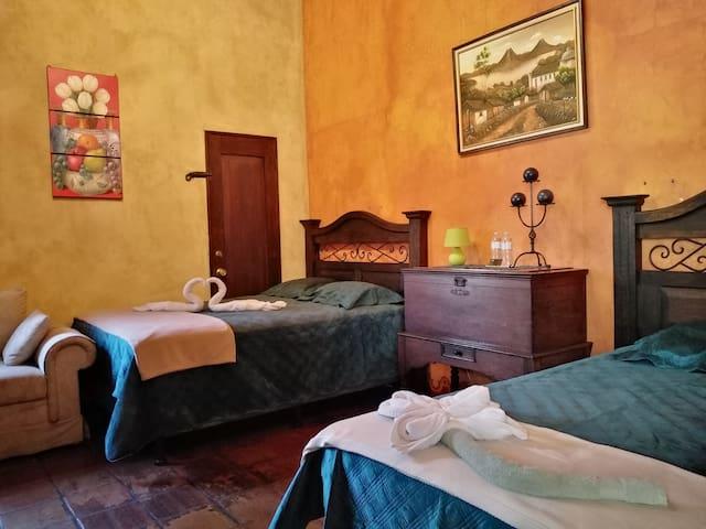 La Villa Antigua - Habitación Deluxe (1)