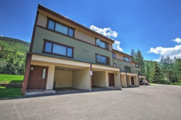 Vail townhome in west vail