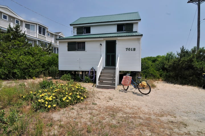 Historic Oceanfront Fenwick Island Cottage