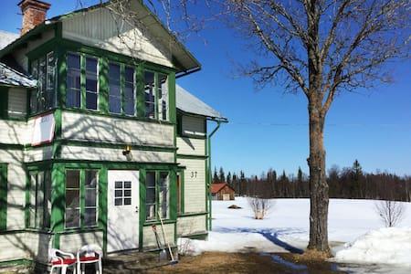 Björkhamra - mysigt boende med fjällutsikt (Ånn)