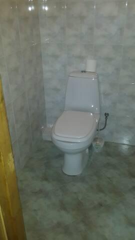 туалет на втором этаже